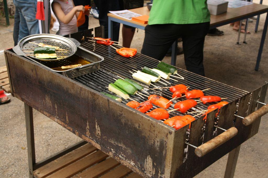 Neu 2018 - auch Gemüse vom Grill