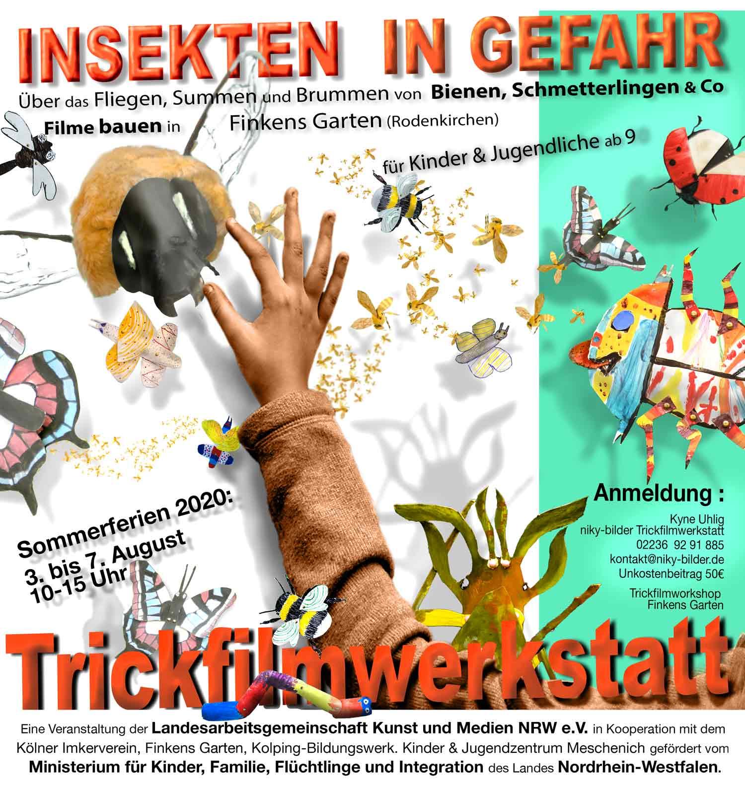 Trickfilm-Werkstatt für Kinder und Jugendliche